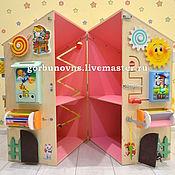 Куклы и игрушки handmade. Livemaster - original item Light USEDOM 8in1 - Games DOLLHOUSE