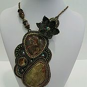 Pendants handmade. Livemaster - original item Pendant-pendant with Jasper. Handmade.