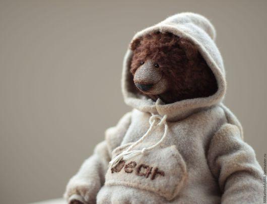 Мишки Тедди ручной работы. Ярмарка Мастеров - ручная работа. Купить Кузьма. Handmade. Мишка тедди, тедди мишка, бурый