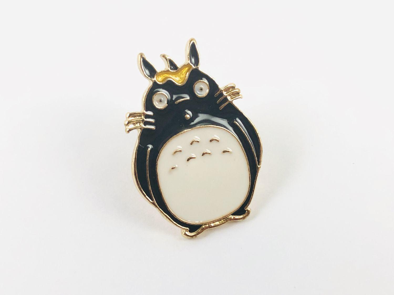 Metal pin O Totoro from the anime 'My neighbor Totoro', Badge, Kaliningrad,  Фото №1