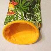 Для домашних животных, ручной работы. Ярмарка Мастеров - ручная работа Домик-мешочек для сна. Handmade.