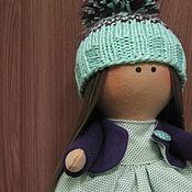 Тыквоголовка ручной работы. Ярмарка Мастеров - ручная работа Просто куколка. Handmade.