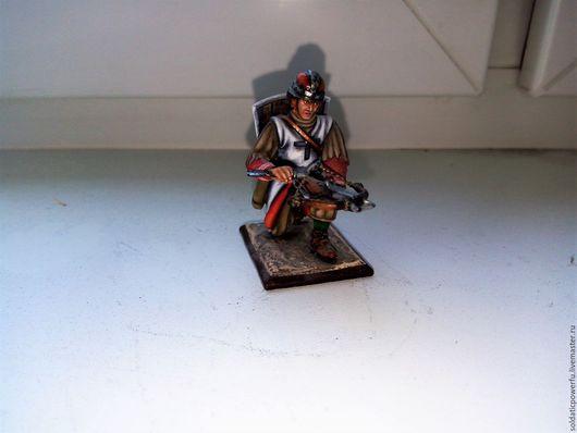 Статуэтки ручной работы. Ярмарка Мастеров - ручная работа. Купить Оловянный солдатик. Handmade. Комбинированный, оловянная миниатюра, солдатики оловянные