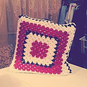Для дома и интерьера ручной работы. Ярмарка Мастеров - ручная работа подушка декоративная. Handmade.
