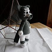 Куклы и игрушки handmade. Livemaster - original item Grey wolf. Handmade.