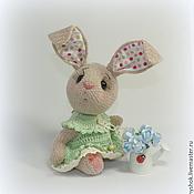 Куклы и игрушки ручной работы. Ярмарка Мастеров - ручная работа Капризулька или Ушки в горошек. Handmade.