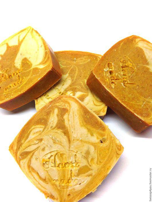 """Мыло ручной работы. Ярмарка Мастеров - ручная работа. Купить """"Кукурма и морковный фрэш"""" натуральное мыло ручной работы. Handmade."""