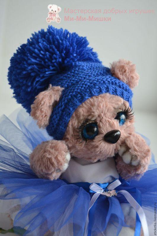 Мишки Тедди ручной работы. Ярмарка Мастеров - ручная работа. Купить Розовая мишутка. Handmade. Розовый, мех