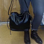 Classic Bag handmade. Livemaster - original item Leather bag 145. Handmade.