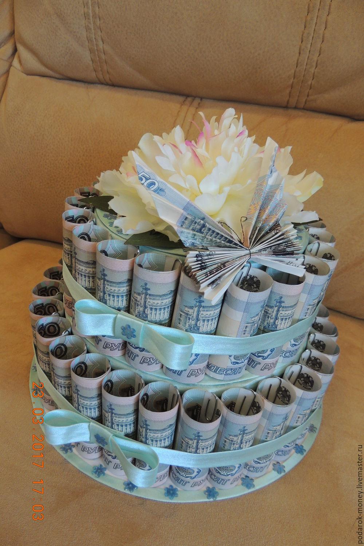 Поздравление с днем рождения к торту из денег 38
