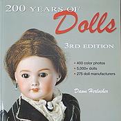 Материалы для творчества ручной работы. Ярмарка Мастеров - ручная работа Книга 200 Years of Dolls. Handmade.