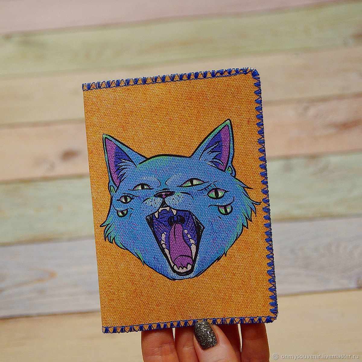 Passport cover 'cat', Cover, Voronezh,  Фото №1