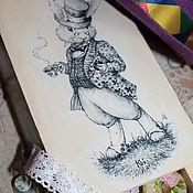 Для дома и интерьера ручной работы. Ярмарка Мастеров - ручная работа Короб-пенал( перевертыш)для разных мелочей(продан). Handmade.