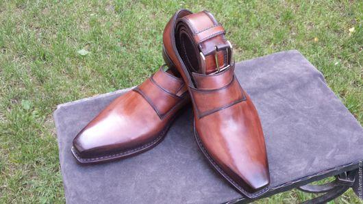 Обувь ручной работы. Ярмарка Мастеров - ручная работа. Купить туфли ручной работы. Handmade. Комбинированный, метод крепления гудиер