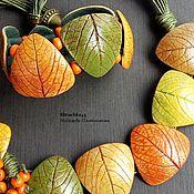 Комплект из полимерной глины Яркая осень