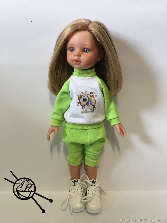 Спортивный костюм для кукол Паола Рейна, Одежда для кукол, Зубцов,  Фото №1