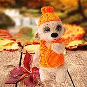 Куклы и игрушки handmade. Livemaster - original item Temochka bear knitted toy. Handmade.