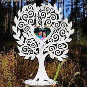 Дерево для размещения рассадки гостей