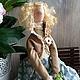 Куклы Тильды ручной работы. Тильда Элен. Елена Сеченова. Интернет-магазин Ярмарка Мастеров. Тильда кукла, кружево винтажное
