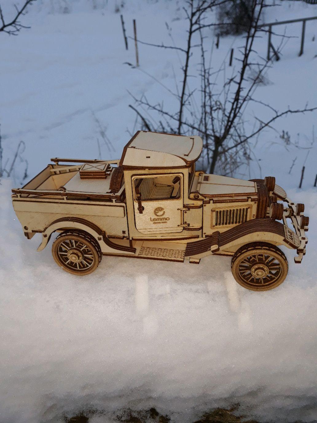 Грузовик ГАЗ-АА. Пикап. Готовая модель, Техника роботы транспорт, Вичуга,  Фото №1