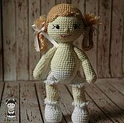 Материалы для творчества handmade. Livemaster - original item Master class on crochet doll Natasha. Handmade.