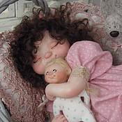 """Куклы и игрушки ручной работы. Ярмарка Мастеров - ручная работа """"Сплюшечка Агата"""". Handmade."""