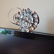 Для дома и интерьера ручной работы. Ярмарка Мастеров - ручная работа часы настенные стимпанк. Handmade.