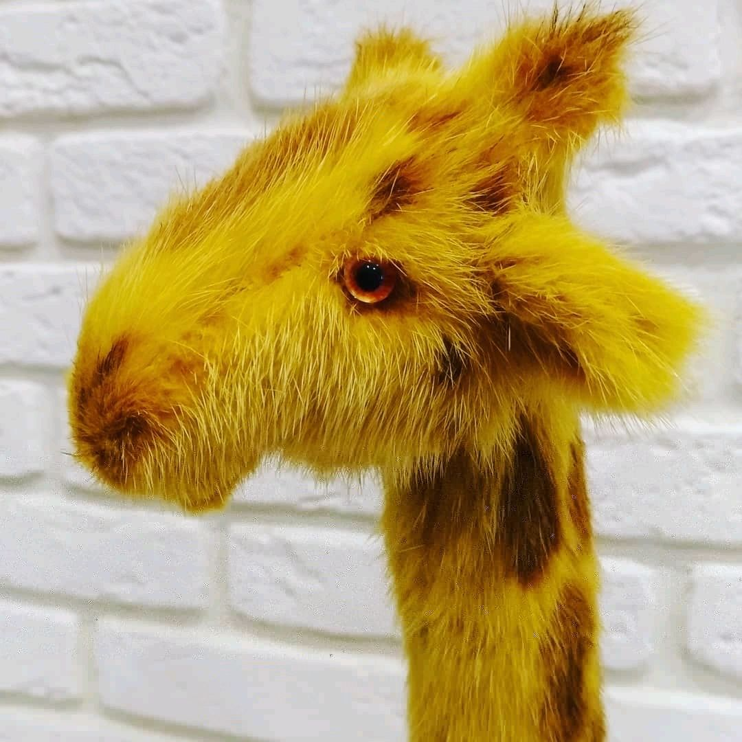 Жирафик из норки, Мягкие игрушки, Санкт-Петербург,  Фото №1