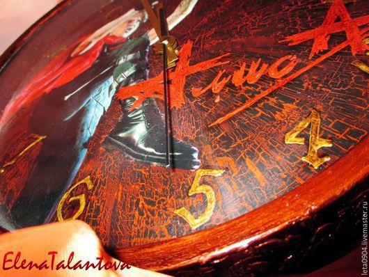 """Часы для дома ручной работы. Ярмарка Мастеров - ручная работа. Купить Часы """"Для тех, кто в пути..."""". Handmade."""