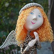 Куклы и игрушки ручной работы. Ярмарка Мастеров - ручная работа Ангел с собачкой. Handmade.
