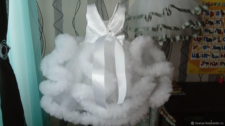 Платье облако для девочки