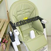 Чехол на стульчик ручной работы. Ярмарка Мастеров - ручная работа Чехол на стульчик для кормления Peg-Perego Siesta/Zero 3. Handmade.
