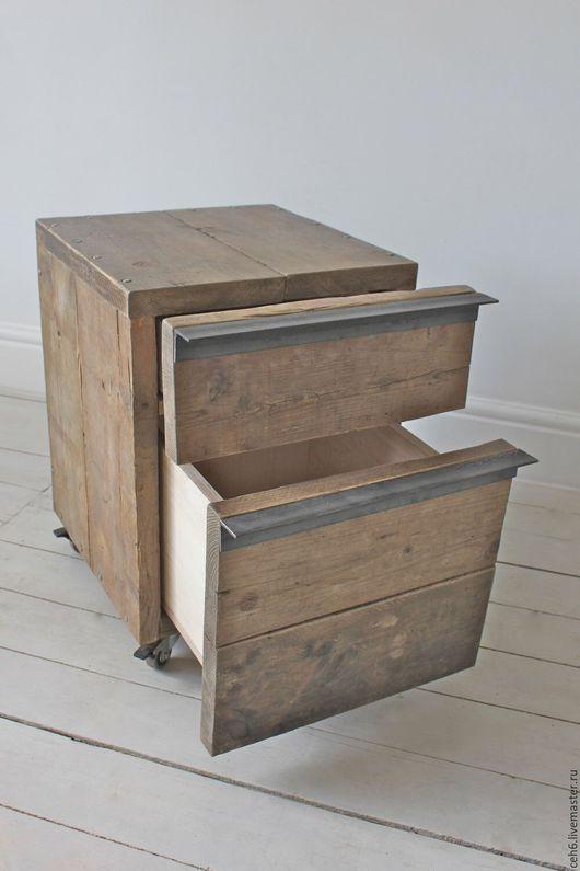 Мебель ручной работы. Ярмарка Мастеров - ручная работа. Купить Тумба из амбарной доски. Handmade. Тумба, дизайнерская работа, гостинная