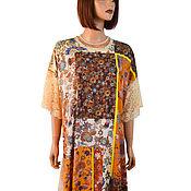Одежда handmade. Livemaster - original item Summer long dress large size loose fit
