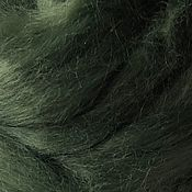 Материалы для творчества handmade. Livemaster - original item Viscose felting . Moss. 50g-75R. Handmade.