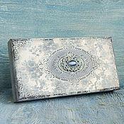 Сувениры и подарки handmade. Livemaster - original item Vintage openwork blue copernica. Handmade.