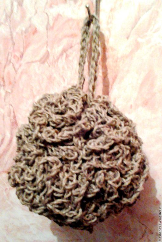 Ванная комната ручной работы. Ярмарка Мастеров - ручная работа. Купить Мочалка-шар из джута. Handmade. Мочалка