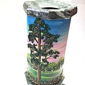 Для дома и интерьера ручной работы. Ярмарка Мастеров - ручная работа Ваза из камня. Handmade.