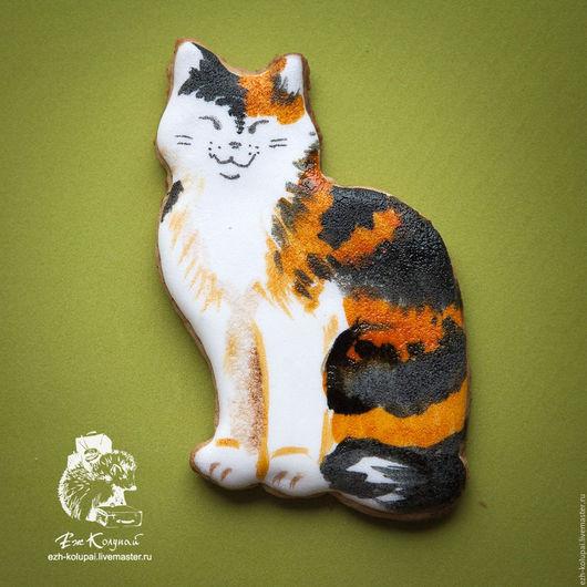 Кухня ручной работы. Ярмарка Мастеров - ручная работа. Купить Кошка - №025-9см Вырубка для пряника. Handmade. Форма для вырубки