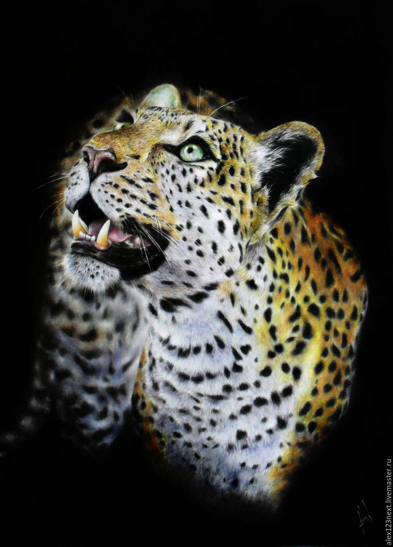 Леопард, Картины, Волгоград,  Фото №1