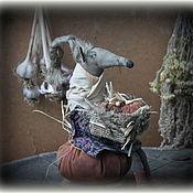 Куклы и игрушки handmade. Livemaster - original item Rat Daphne. Handmade.