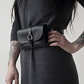 Сумки и аксессуары handmade. Livemaster - original item Beltbag/clutch Mini (matte). Handmade.