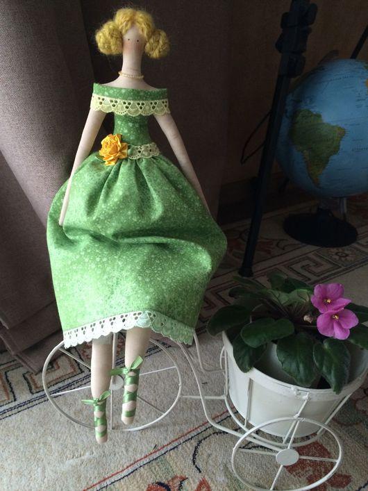 Куклы Тильды ручной работы. Ярмарка Мастеров - ручная работа. Купить Текстильная кукла, мягкая и уютная, хороший подарок себе и близким. Handmade.