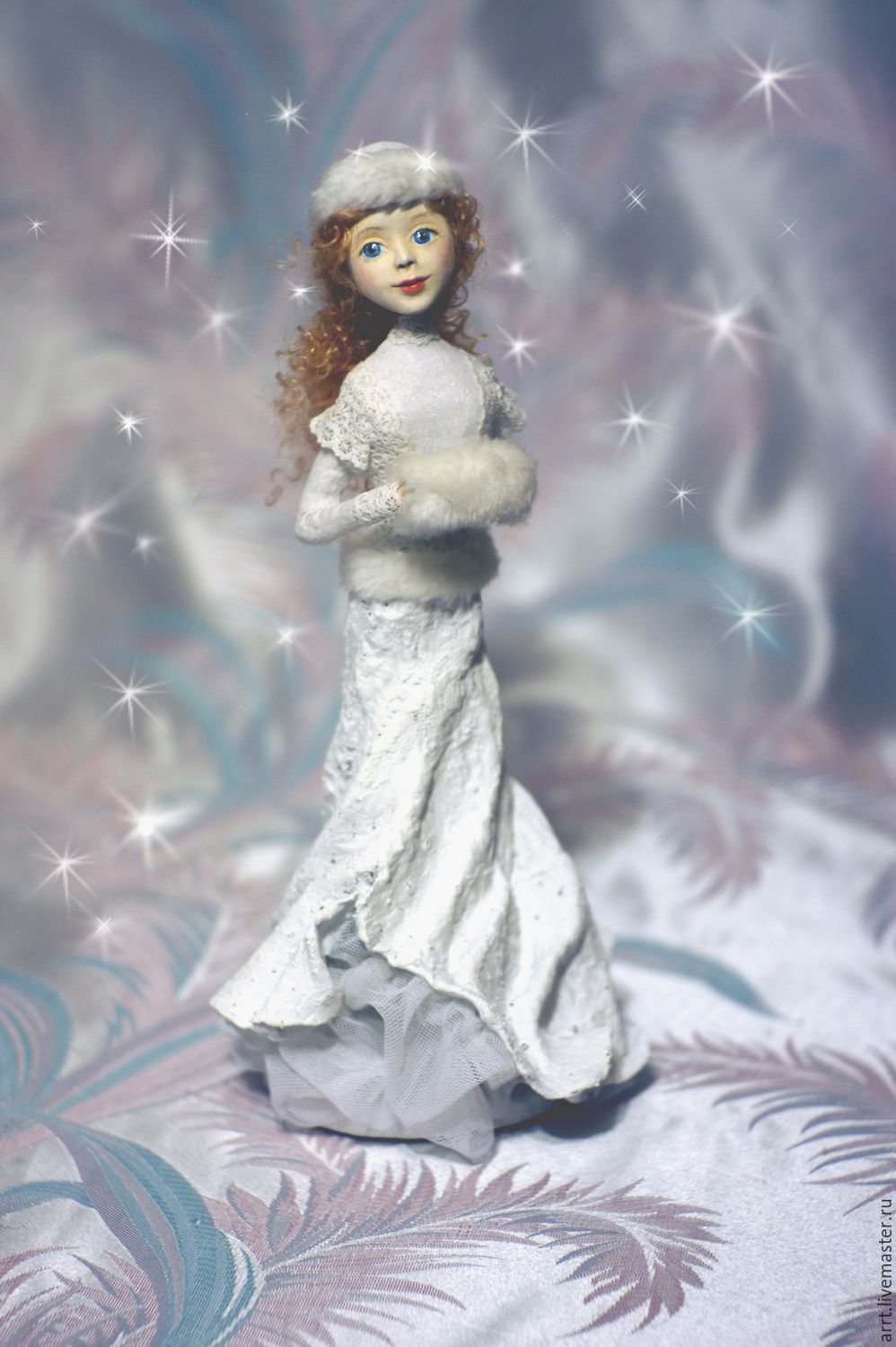 Snow Maiden Doll, Figurine, St. Petersburg, Фото №1