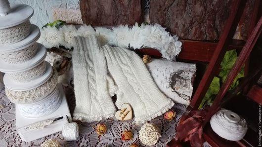 митенки вязаные купить ярмарка мастеров вязание на заказ