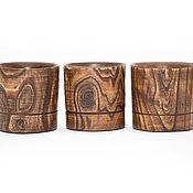 Посуда handmade. Livemaster - original item Wooden glass of whiskey (3#2. Handmade.