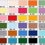 Материалы для творчества ручной работы. Ярмарка Мастеров - ручная работа Корейский фетр мягкий, толщина 1мм. Handmade.
