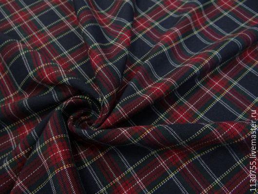 Шитье ручной работы. Ярмарка Мастеров - ручная работа. Купить ткань костюмная вискоза стрейч 20. Handmade. Комбинированный