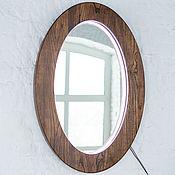"""Зеркала ручной работы. Ярмарка Мастеров - ручная работа Зеркало с подсветкой """"Ellisse"""". Handmade."""