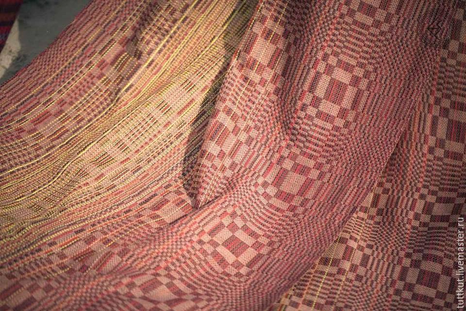 Купить ткань льняную с вышивкой